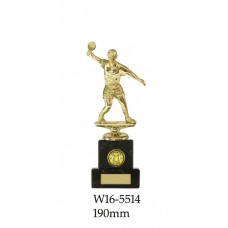 Table Tennis Trophies Male W16-5514 - 190mm