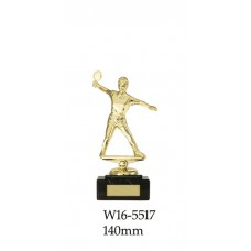 Table Tennis Trophies Female W16-5517 - 140mm