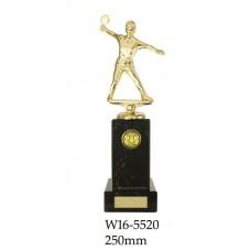 Table Tennis Trophies Female W16-5520 - 250mm