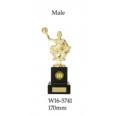 Water Polo Trophies W16-5741 - 170mm