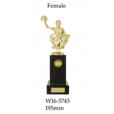 Water Polo Trophies W16-5745 - 195mm