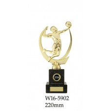 Volleyball Trophies W16-5902 - 220mm