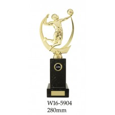 Volleyball Trophies W16-5904 - 280mm