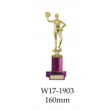Cheerleading Trophies W17-1903 - 160mm Also 191mm & 216mm