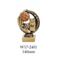 Basketball Trophies W17-2401 - 140mm Also 170mm 195mm & 220mm