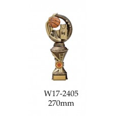 Basketball Trophies W17-2405 - 270mm Also 290mm 310mm 330mm & 360mm
