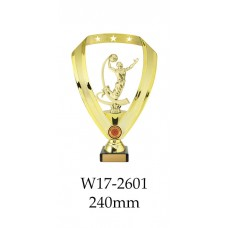 Basketball Trophies W16-2601 - 240mm Also 290mm 315mm & 350mm