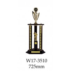 Bodybuilding Trophies W17-3510 - 725mm