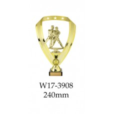 Martial Arts Trophies W17-3908 - 240mm Also 290mm 315mm & 350mm