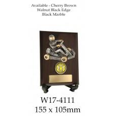 Motorsport Go Kart Trophies W17-4111 - 155x105mm Also 175x125mm & 200x150mm
