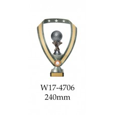 Golf Trophies W17-4706 - 240mm Also 290mm 315,, & 350mm