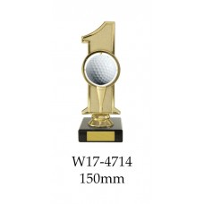 Golf Trophies W17-4714 - 150mm Also 200mm 225mm & 260mm