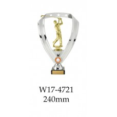 Golf Trophies Male W17-4721 - 240mm Also 290mm 315mm & 350mm