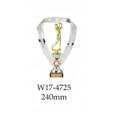 Golf Trophies Female W17-4725 - 240mm Also 290mm 315mm & 350mm