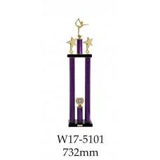 Gymnastics Trophies W17-5101 - 732mm
