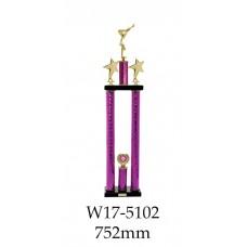 Gymnastics Trophies W17-5102 - 752mm