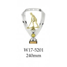 Hockey Trophies Male W17-5201 - 240mm Also 290mm 315mm & 350mm