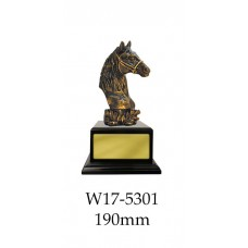 Equestrian Trophies W17-5301 - 190mm Also 250mm