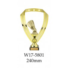 Badminton Trophies W17-5801 - 240mm Also 290mm, 315mm & 350mm