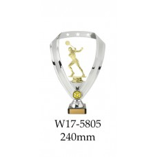 Squash Trophies Male W17-5805 - 240mm Also 290mm 315mm & 350mm