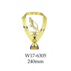 Grid Iron Trophies  W17-6305 - 240mm Also 290mm 315mm & 350mm