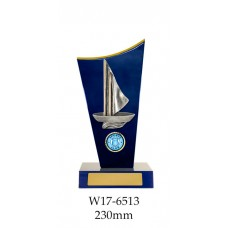 Sailing Trophies W17-6513 - 230mm Also 260mm & 290mm