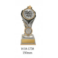 Drama Trophies W18-1738 - 150mm Also 175mm & 200mm