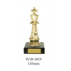 Chess Trophies W18-1819 - 110mm Also 160mm, 185mm, & 220mm