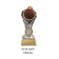 Basketball Trophies W18-2601 - 150mm Also 175mm & 200mm