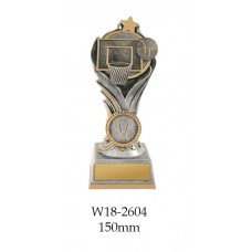 Basketball Trophies W18-2604 - 150mm Also 175mm & 200mm