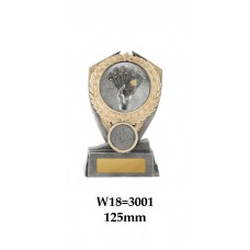 Playing Cards Trophies W18-3001 - 125mm Also 150mm & 175mm