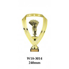 Playing Cards Trophies W18-3014 - 240mm Also 270mm  295mm & 320mm