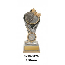 Darts Trophies W18-3126 - 150mm Also 175mm & 200mm