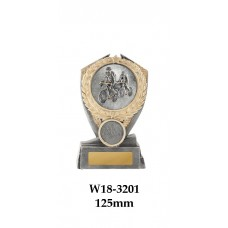 Cycling Trophies Male W18-3201 - 125mm Also150mm & 175mm