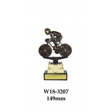 Cycling Trophies Male W18-3207 - 149mm Also 180mm, 205mm, 230mm & 255mm