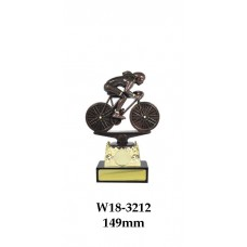 Cycling Trophies Female W18-3212 - 149mm Also 180mm, 205mm, 230mm & 255mm