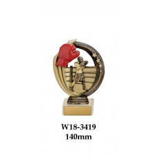 Boxing Trophies W18-3419- 140mm Also 170mm 195mm & 220mm