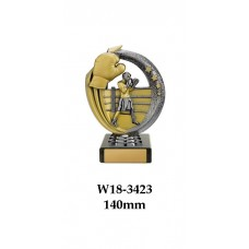 Boxing Trophies W18-3423 - 140mm Also 170mm, 195mm & 220mm