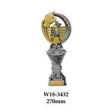 Boxing Trophies W18-3432 - 270mm Also 290mm, 310mm, 330mm & 360mm