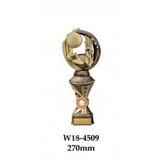 Golf Trophies W18-4509 - 270mm Also 290mm, 310mm, 330mm & 360mm