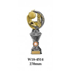 Golf Trophies W18-4514 - 270mm Also 290mm, 310mm, 330mm & 360mm