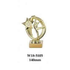 Gymnastics Trophies W18-5105 - 140mm Also 170mm 195mm & 220mm