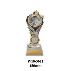 Equestrian Trophies W18-5611 - 150mm Also 175mm 200mm