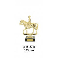 Equestrian Trophies W18-5716 - 135mm Also 185mm 210mm & 245mm