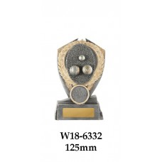 Lawn Bowls Trophies W18-6332 - 125mm Also 150mm & 175mm