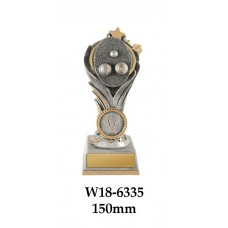 Lawn Bowls Trophies W18-6335 - 150mm Also 175mm & 200mm