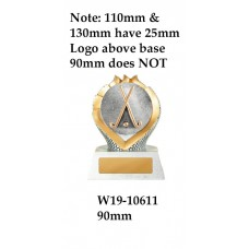 Hockey Trophies W19-10611 - 90mm Also 120mm & 140mm