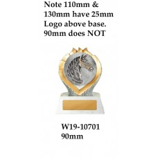 Equestrian Trophies W19-10701 - 90mm