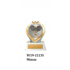 Tennis Trophies W19-11135 - 90mm Also 150mm & 175mm