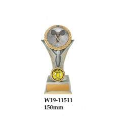 Badminton Trophies W19-11511 - 150mm Also 175mm 195mm & 225mm
